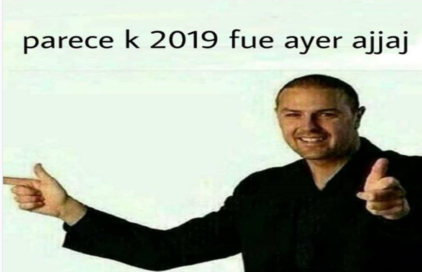 2019? a 2020? - meme