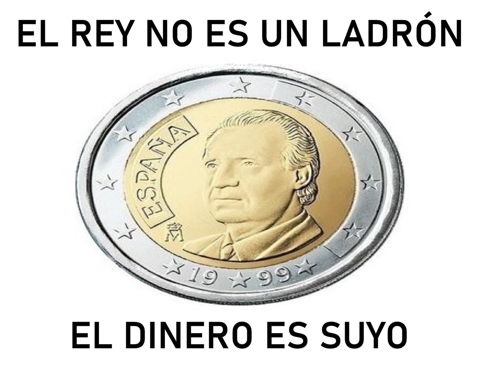 ESPAÑA 1999 JEFE DEL ESTADO DOS EUROS - meme