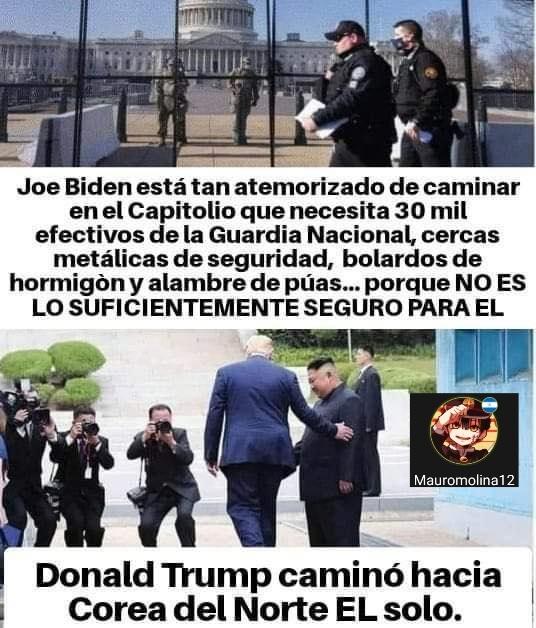 Alto marico el Biden - meme