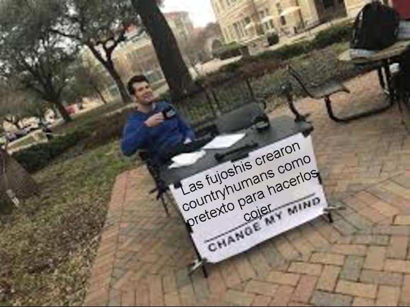 Cambien mi mente - meme