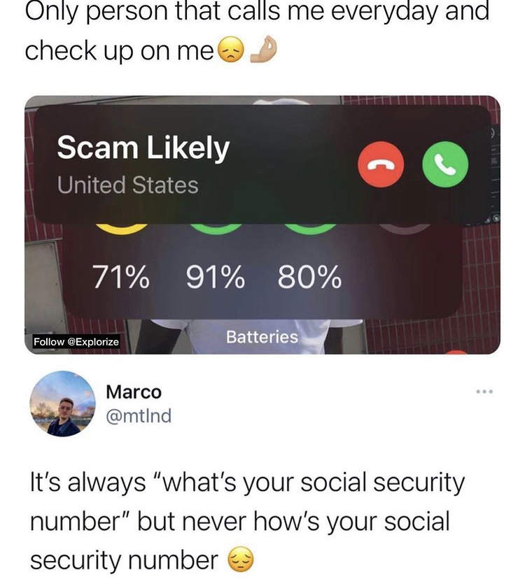 WHY IS SOCIAL SECURITY NUMBER?!?! - meme