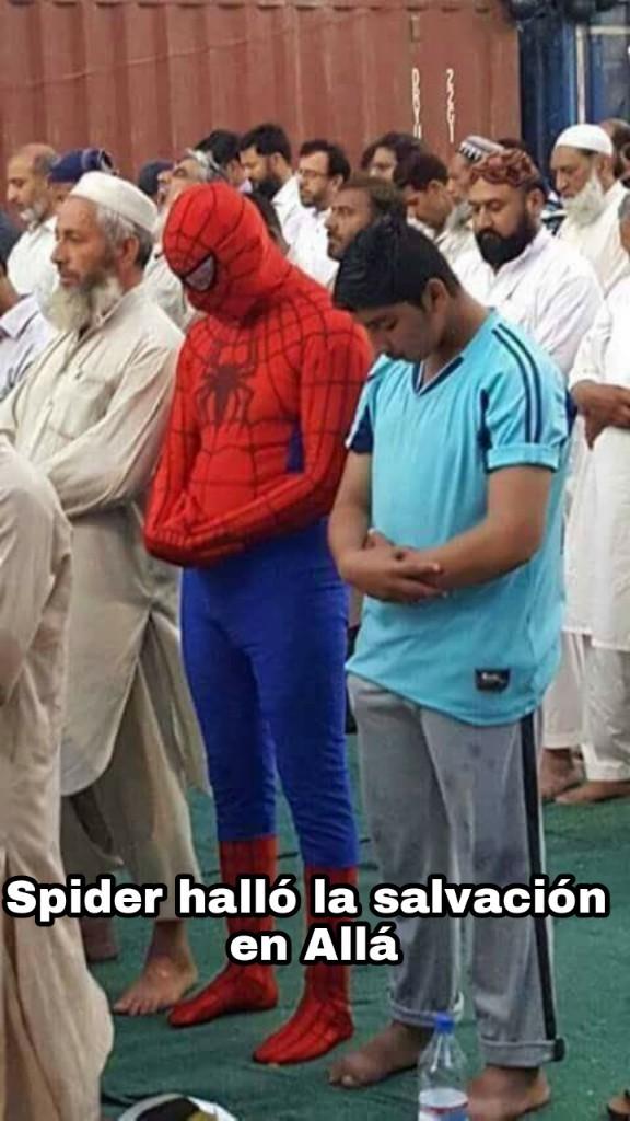 Spiderman musulmán - meme