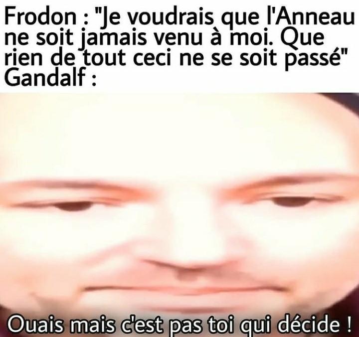 *Vasy tuma soulé ouaich* - meme