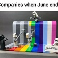 Companies be like