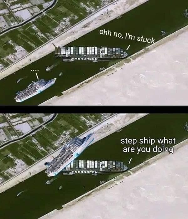 Horny ship - meme