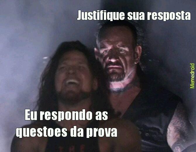 Provas - meme