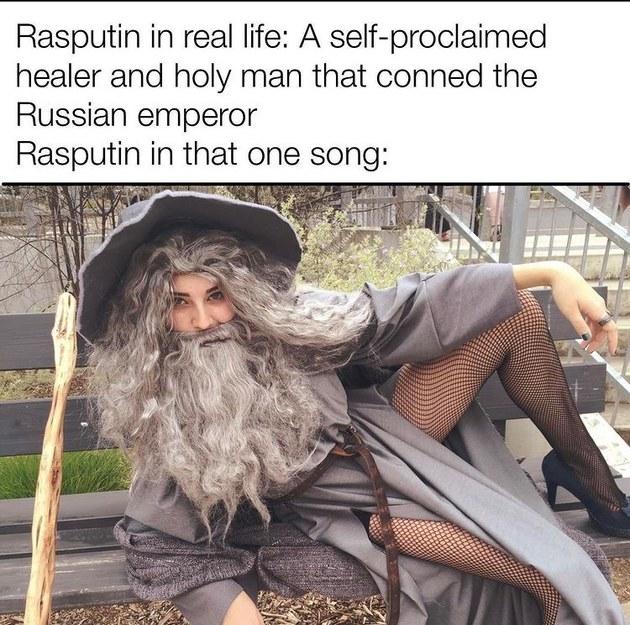 sexy Gandalf - meme