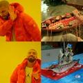 Verdadeiro barco sushi