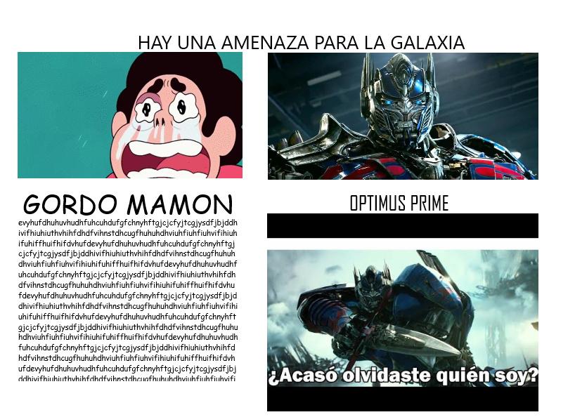 Gordo Mamon XD - meme