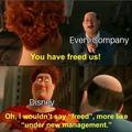 Disney be like