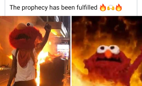 The profecy has been fulfilled - meme