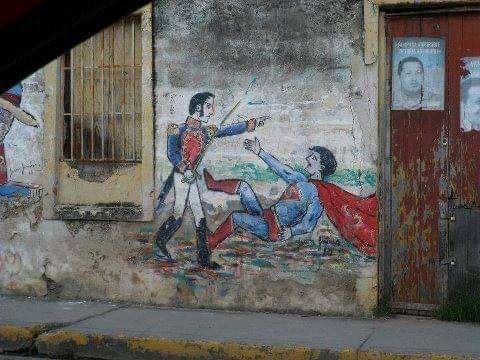 Simón Bolívar le gana a todos - meme