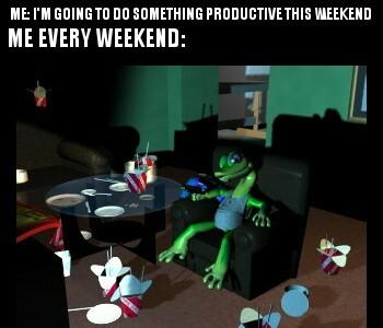 Gex the Gecko - meme