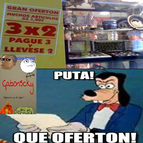 Q oferton - meme