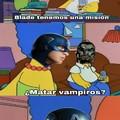El título se fue a matar vampiros