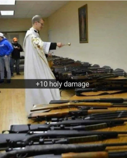 Holy Damage - meme