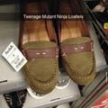 Teenage mutant ninja loafers!