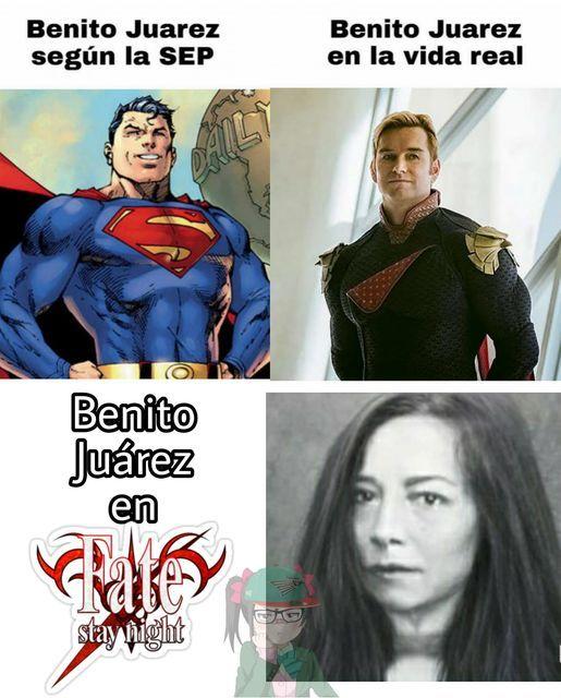 Benito Juarez es mierda - meme