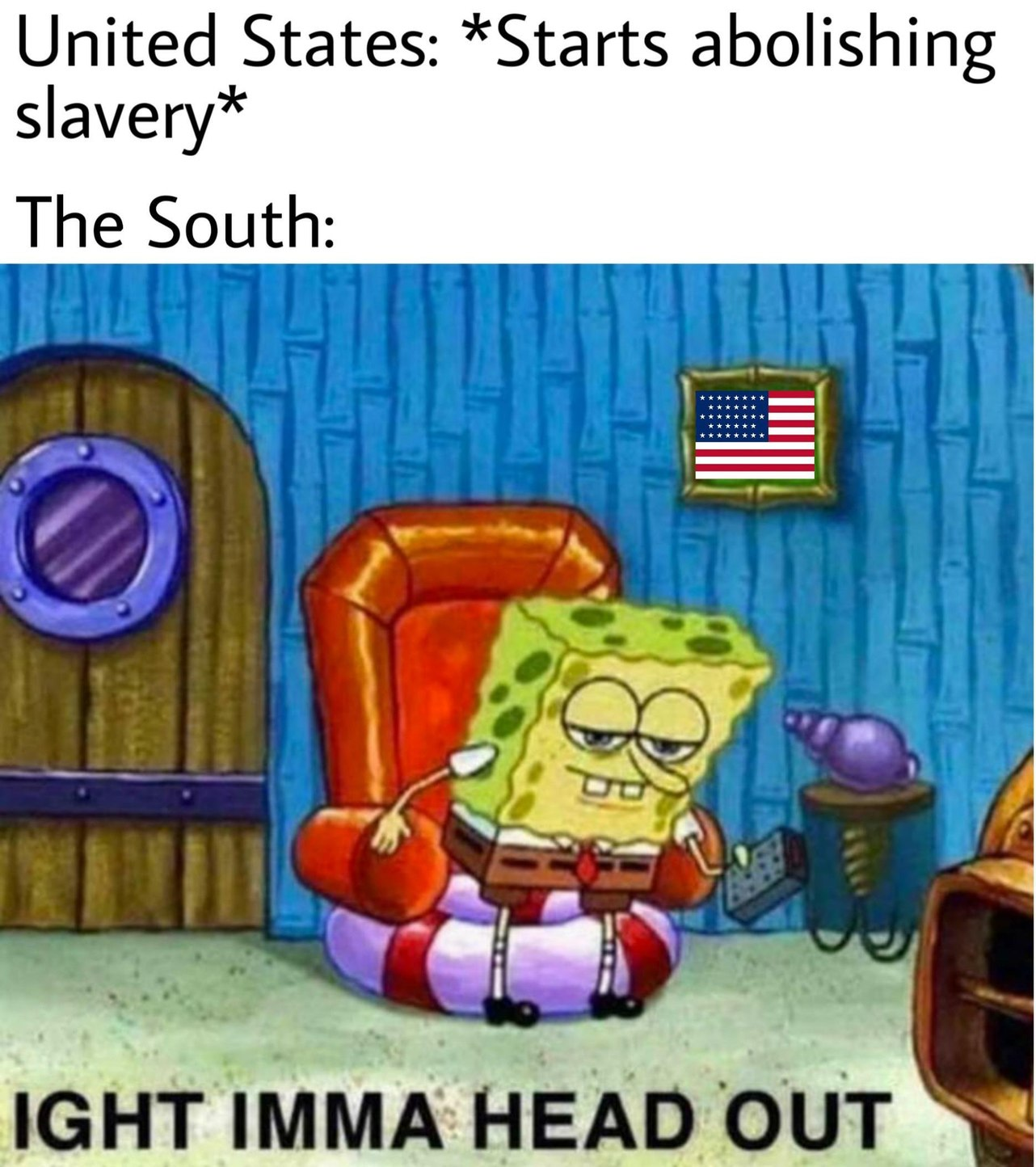 People think that title is a Confederate because it's from the south - meme