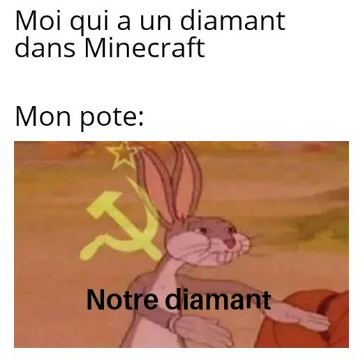 Notre diamant - meme