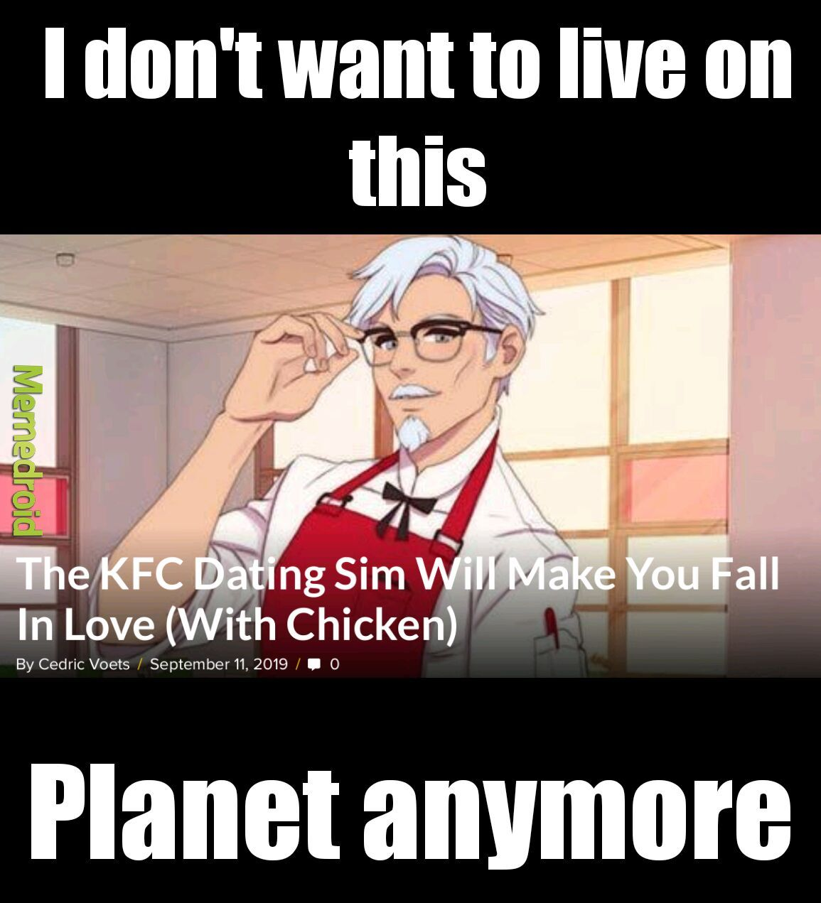 What in the crispy Kentucky Fried fuck? - meme