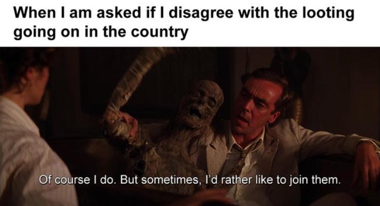 Antifa is a terrorist organization - meme