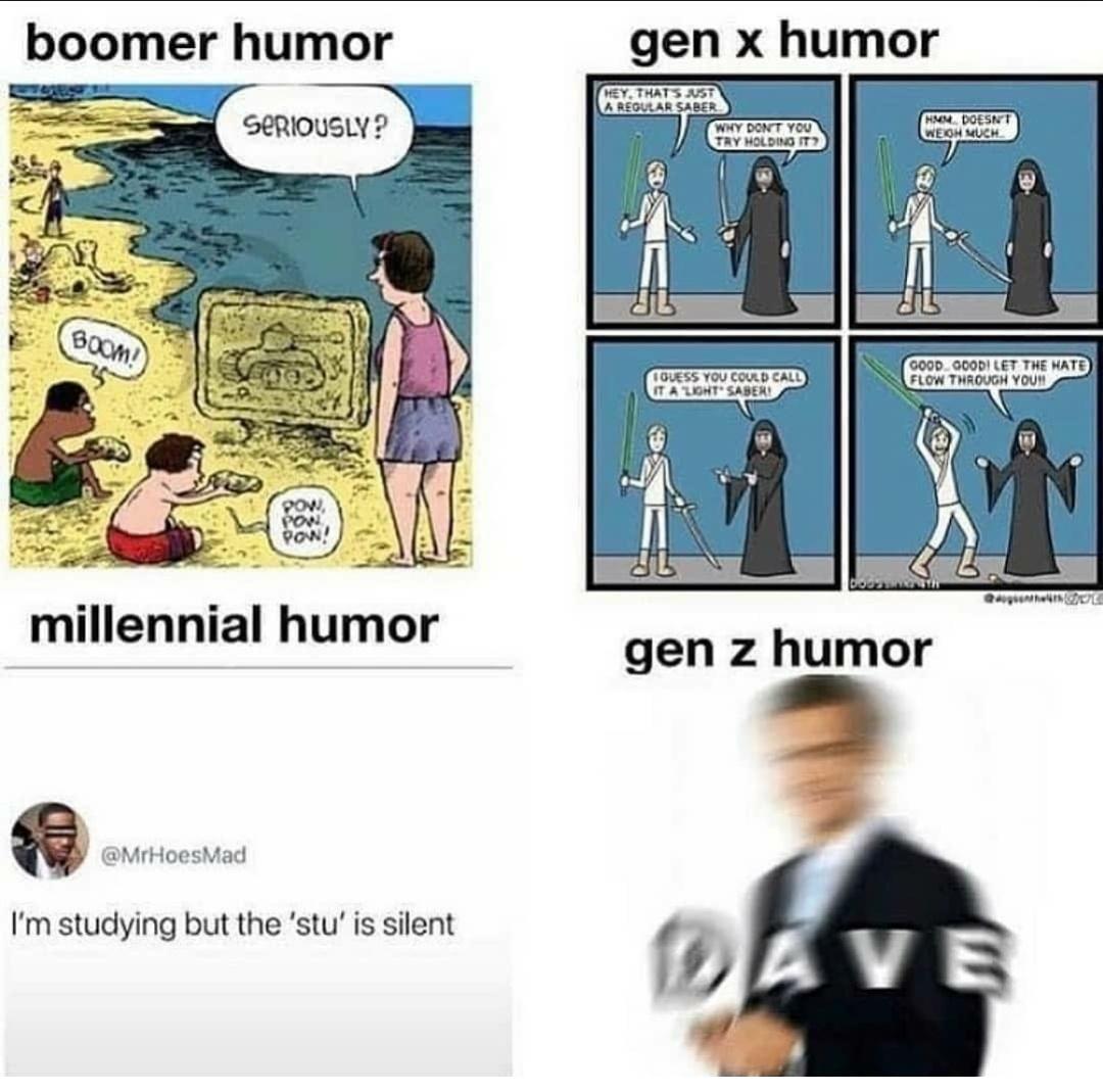 My humour.. it has broken - meme