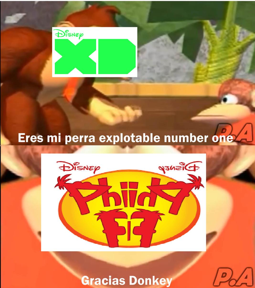 En los últimos días, Disney XD ha estado transmitiendo los episodios de Phineas y Ferb una y otra vez, no sé el porqué. Además, ¿Cómo se elimina un meme?