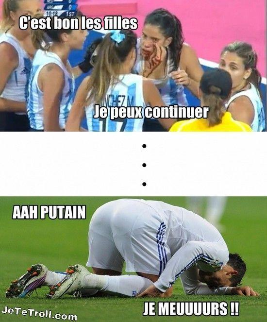 Les footballeurs... - meme