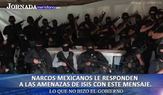 Mexico vs isis - meme