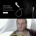 Never lose your AirPods