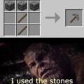 infinito pedra