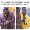 Q ruina los mosquitos
