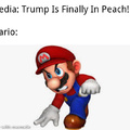 Trump is finally in Peach
