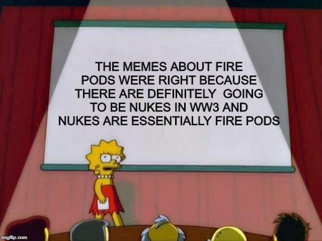 Earth pods still to be seen - meme