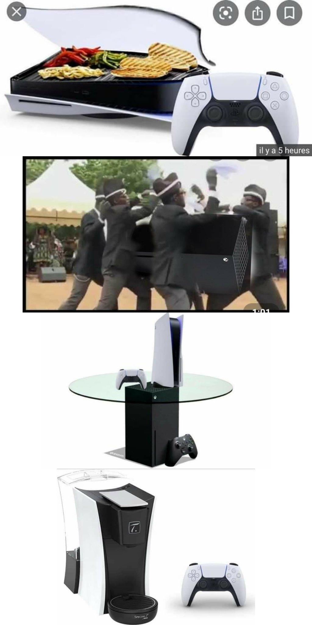 Compilation de meme ps5/Xbox