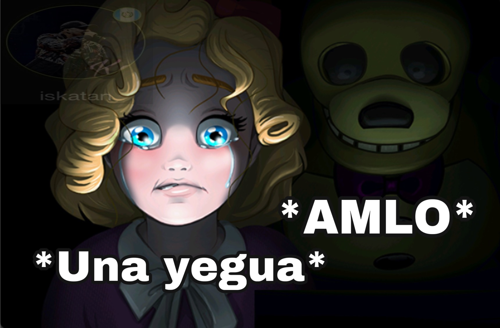 "Las yeguas son ""AMLOVERS"" - meme"