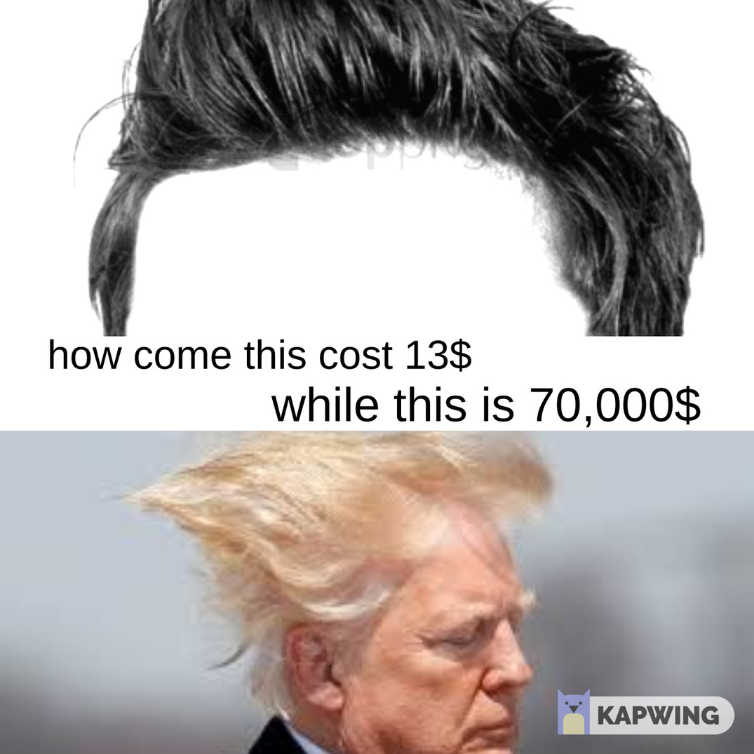 dat hair - meme