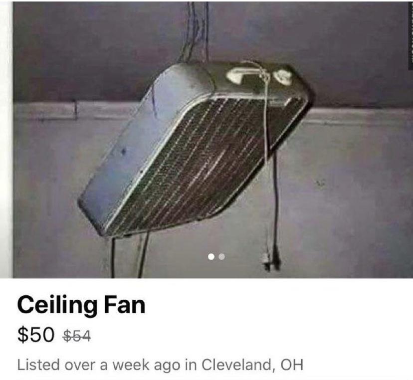 ceiling fan - meme