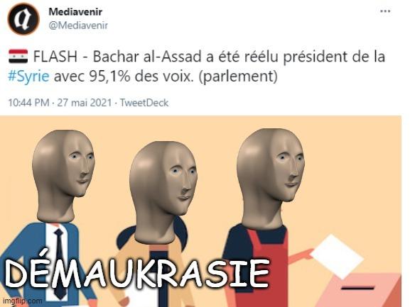 la Syrie Be like : - meme