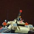 Un tanque de lego