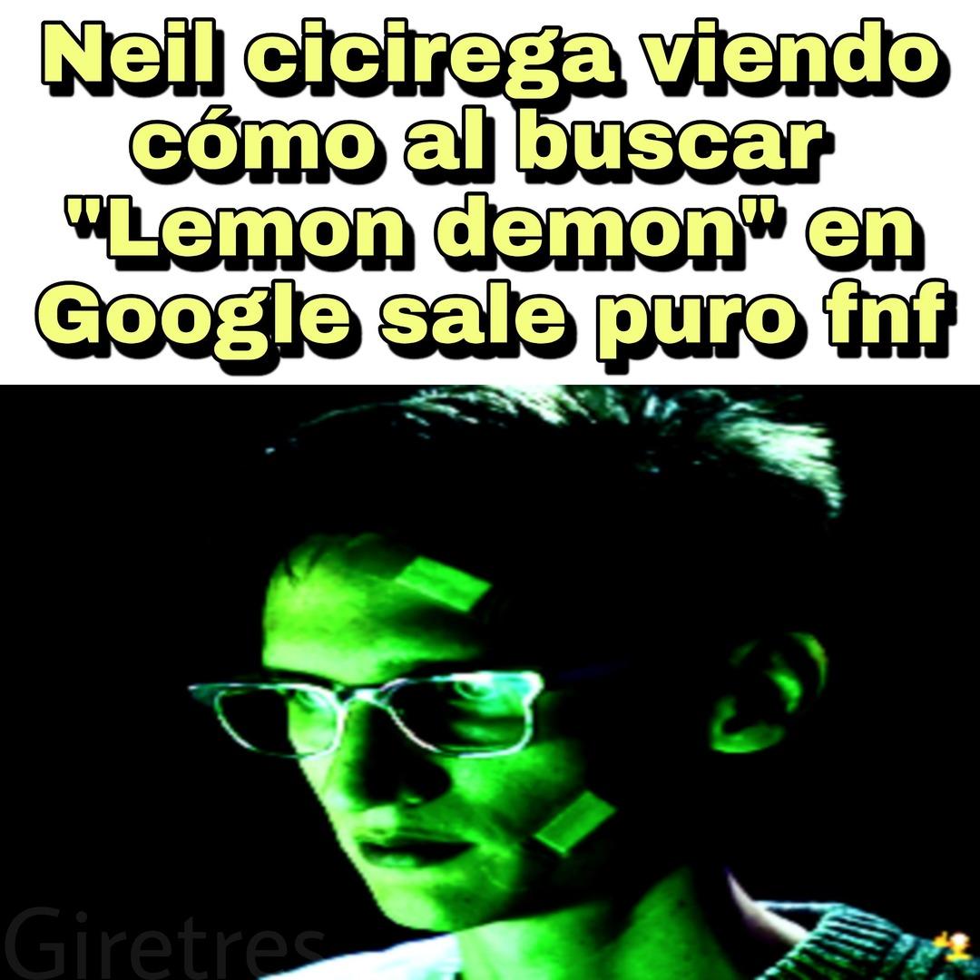 """Lemon demon es mi """" banda """" favorita - meme"""