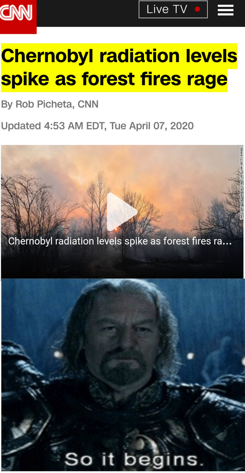 We've missed it, guys. It's already here - meme
