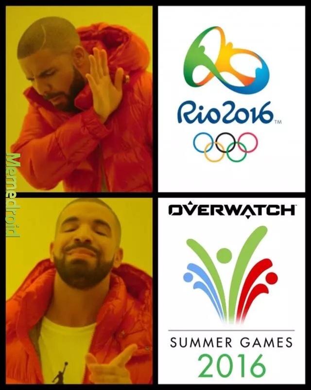 Overwatch is lit - meme
