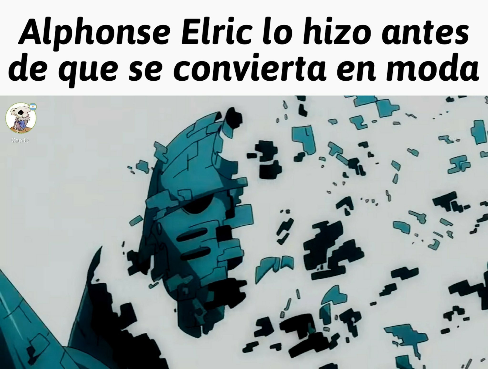 Alphonse Elric!!!! - meme