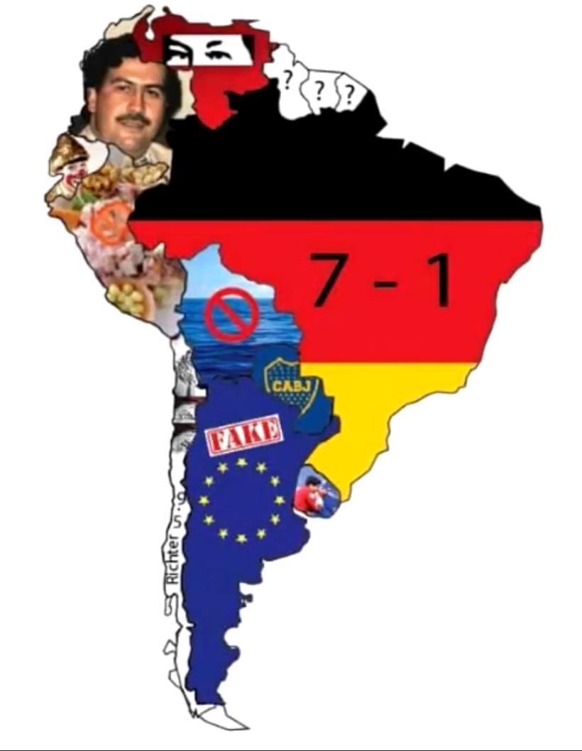Latinoamérica <3 - meme