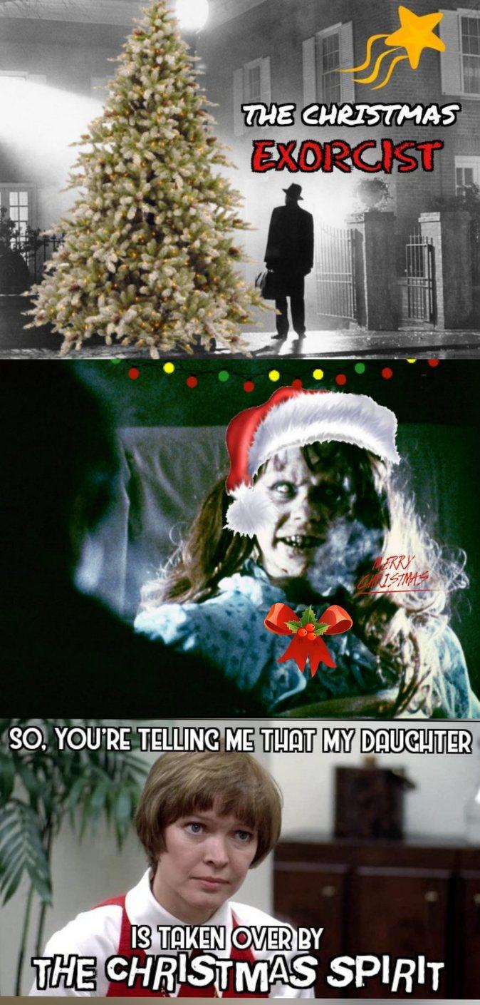 Exorcist Christmas - meme