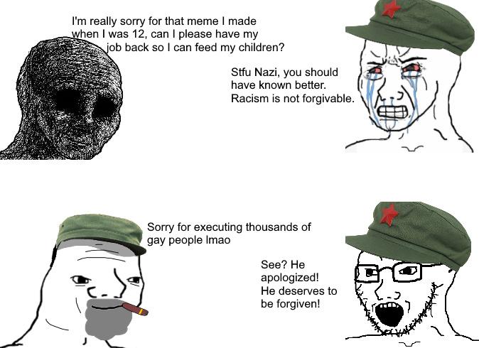 Leftist be like - meme