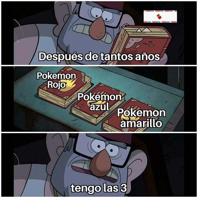 Son trilogía de la gameboy clasica - meme