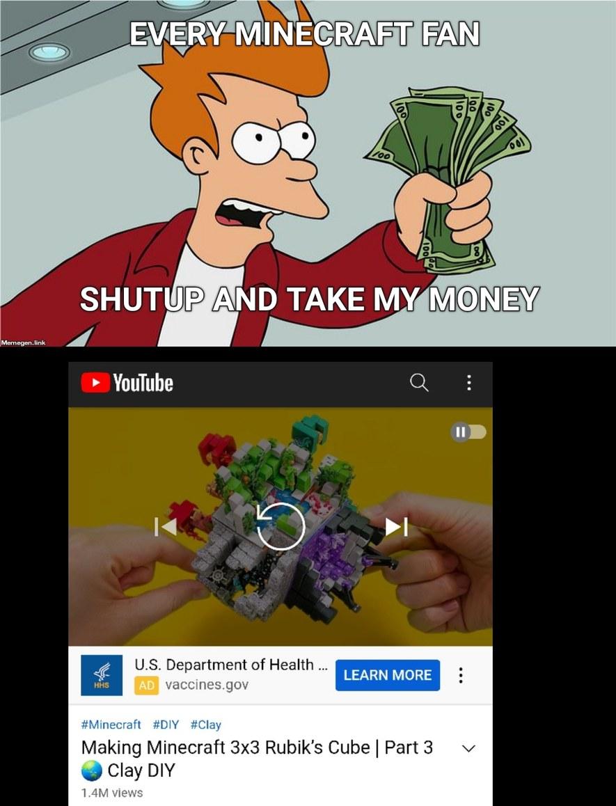 Shut up and take my money - meme